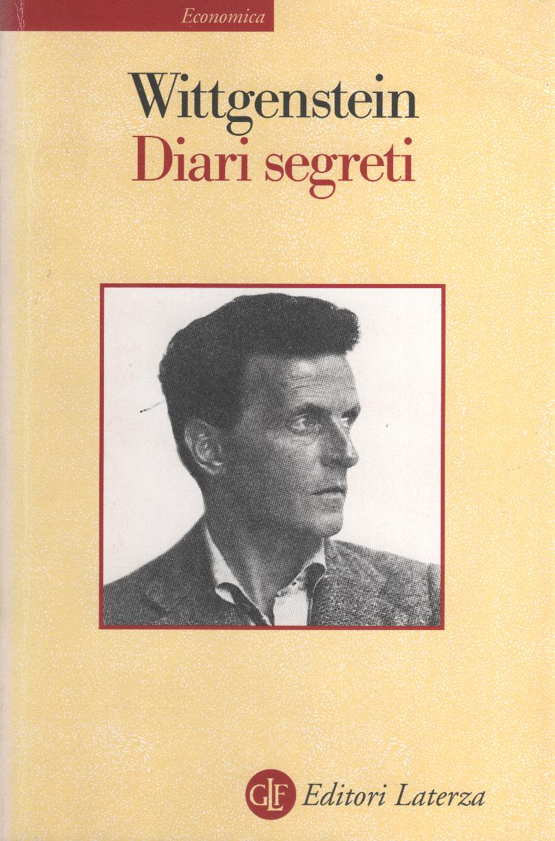 Ludwig Wittgenstein, Diari segreti, editori Laterza